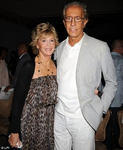 Jane Fonda, 71, and fiance Richard Perry will tie the knot in a Christmas ceremony attended by two of her three ex-husbands.