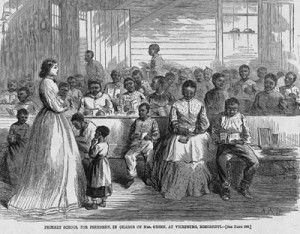 School for Emancipated Slave Children, Vicksburg, Mississippi, 1866