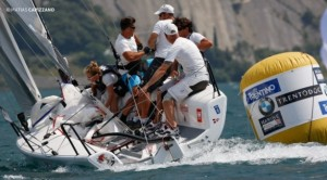 The winning crew for the Audi Ultra team was composed of helmsman Riccardo Simoneschi, tactician Enrico Fonda, trimmer Federico Buscaglia, pitman Michele Cannoni and bowman Lucia Giorgetti.