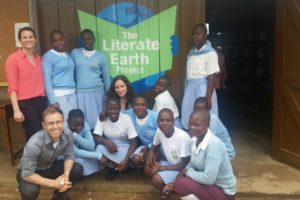 St. Mugaga Secondary School library is one of the nine libraries the Literate Earth Project has opened throughout rural districts of Uganda since 2013, with two more openings slated for this year.
